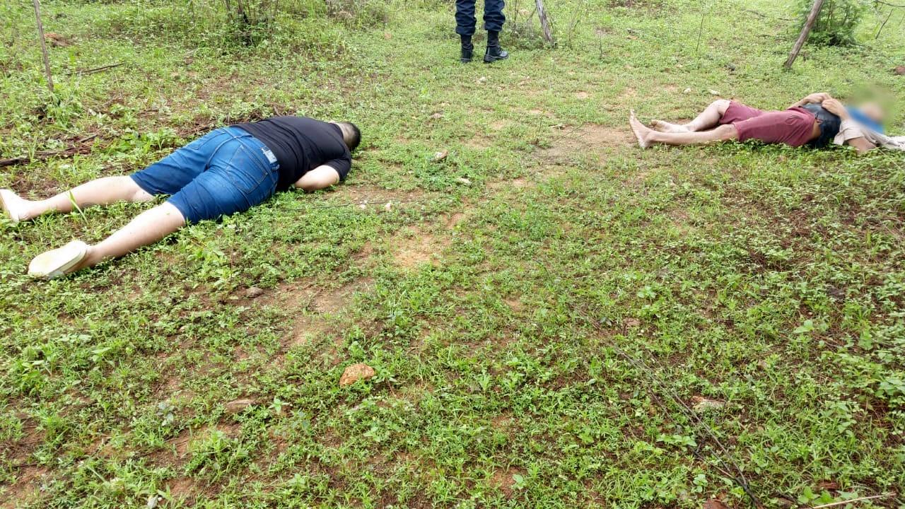 Criminosos são encontrados mortos a tiros na zona rural de Santa Quitéria