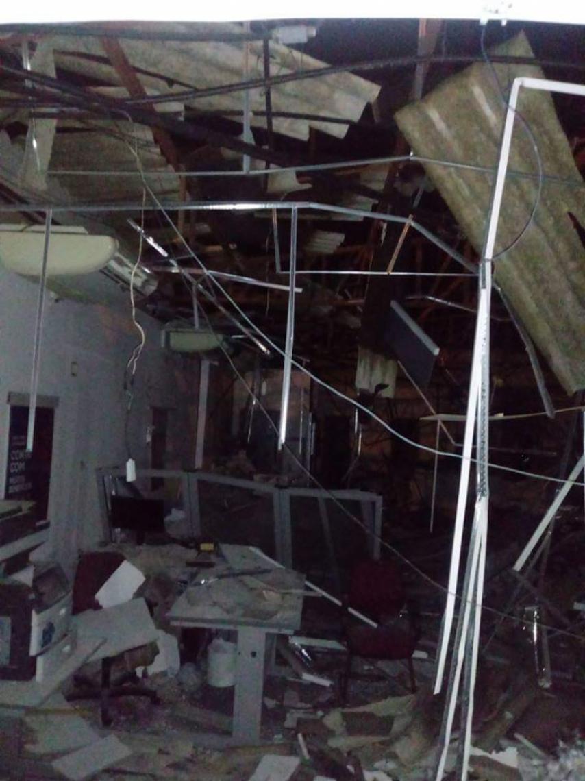 Criminosos explodem banco em Cariré (veja o video)