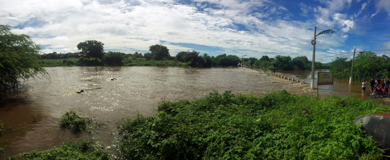 Rio Jacurutu atinge o seu melhor nível desde 2011