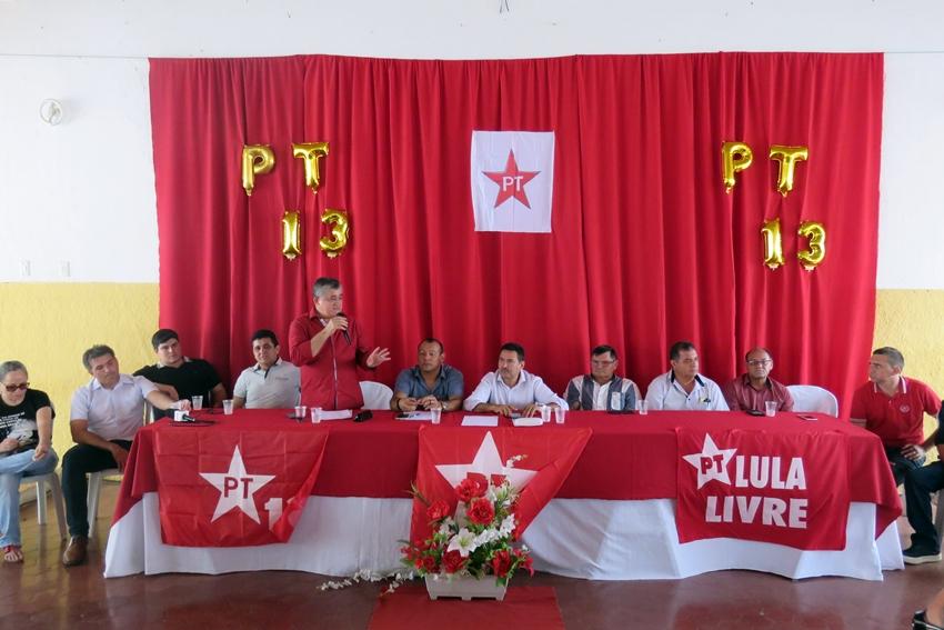 PT entra no páreo e terá candidatura à prefeito de Santa Quitéria em 2020