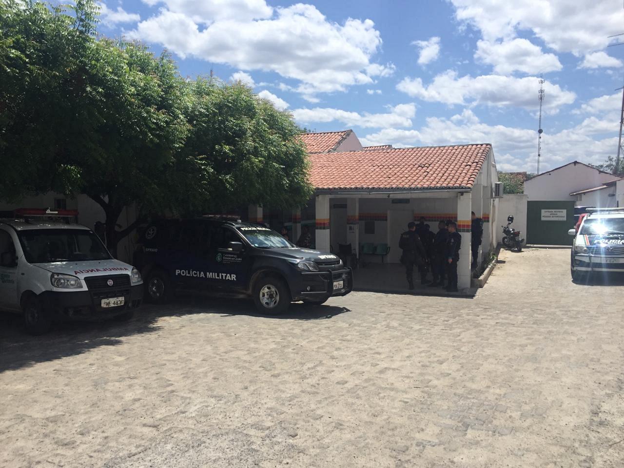 Homem é morto a tiros no bairro Pereiros, em Santa Quitéria