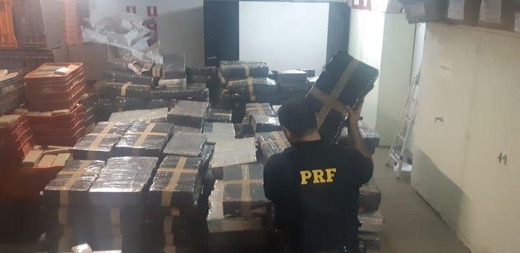 PRF apreende mais de 4,6 toneladas de maconha