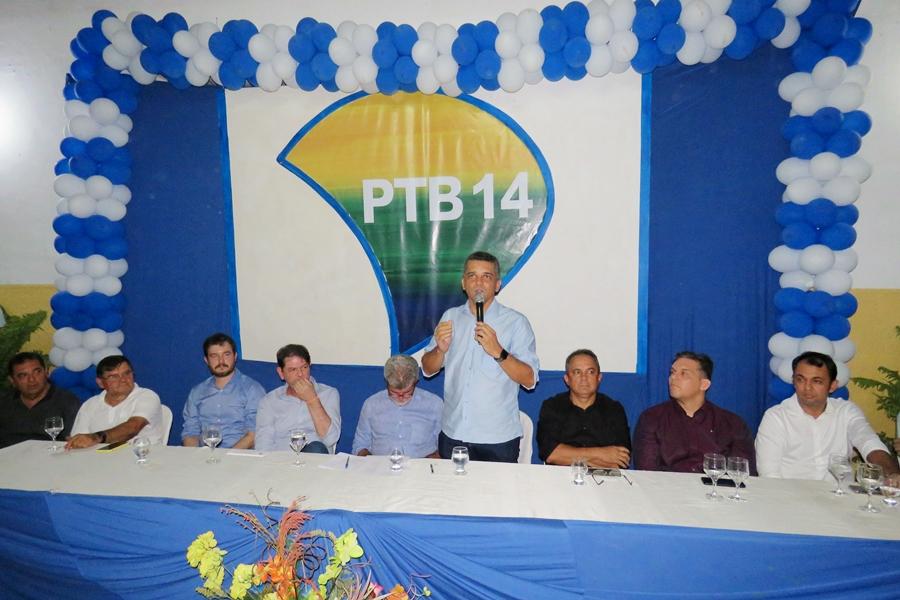 Em convenção, PTB oficializa pré-candidatura de Marcelo Magalhães para 2020
