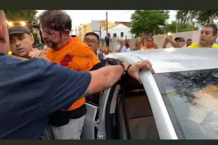 """Cid Gomes é baleado em Sobral """"Veja Video"""""""