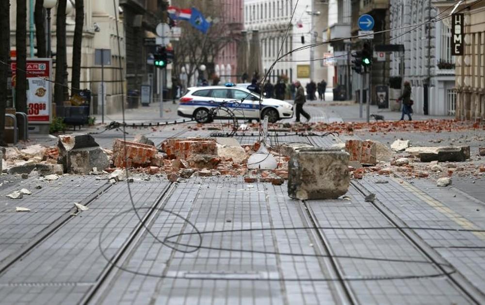 Terremoto de magnitude 5,3 atinge a Croácia e deixa um morto