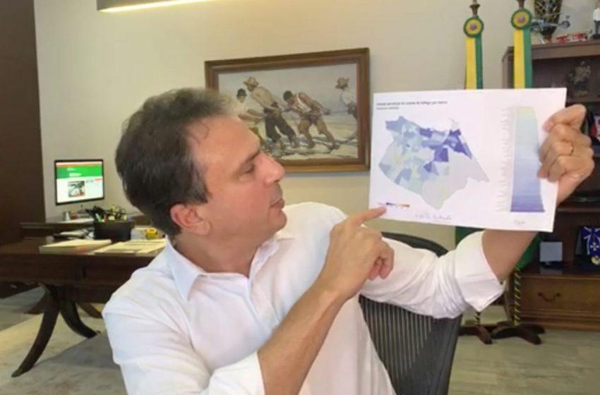 Governo do Ceará abre mais 73 leitos para o tratamento de pessoas com a Covid-19