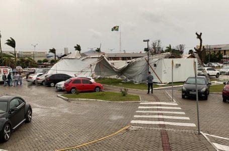 Formação de 'ciclone-bomba' e passagem de tempestades provocam ao menos 3 mortes em SC