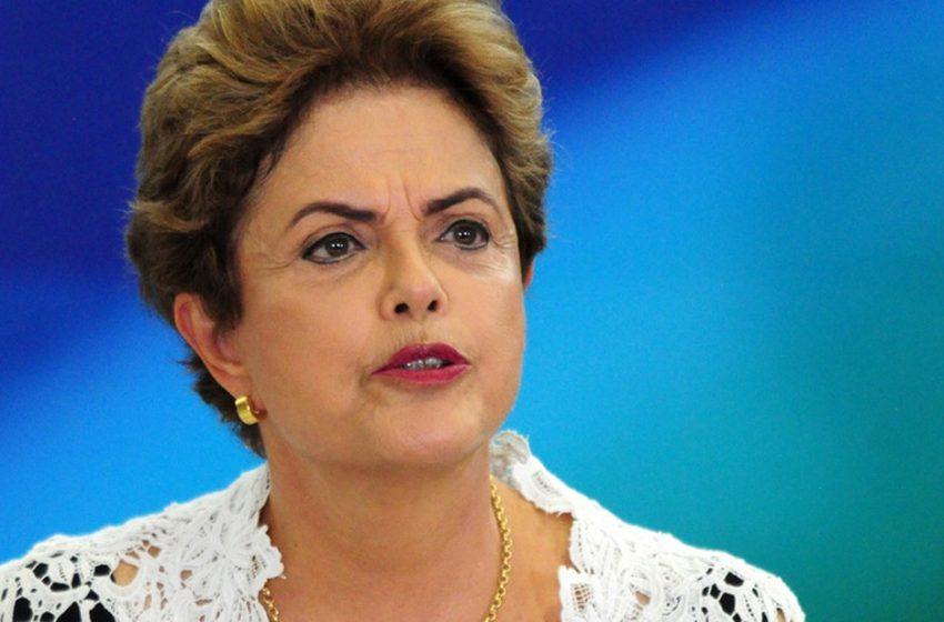 """Dilma Rousseff: """"No Brasil, só tem um jeito de salvar a democracia, é tirar Bolsonaro"""""""