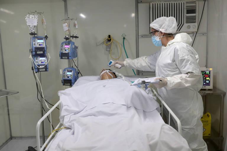 Principal unidade pública para pacientes com Covid em Fortaleza tem 100% de ocupação