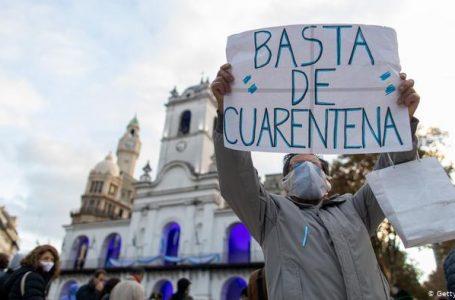 Argentina, Covid fora de controle