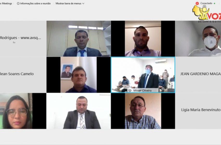 Justiça Eleitoral diploma prefeito, vice e vereadores eleitos de Santa Quitéria