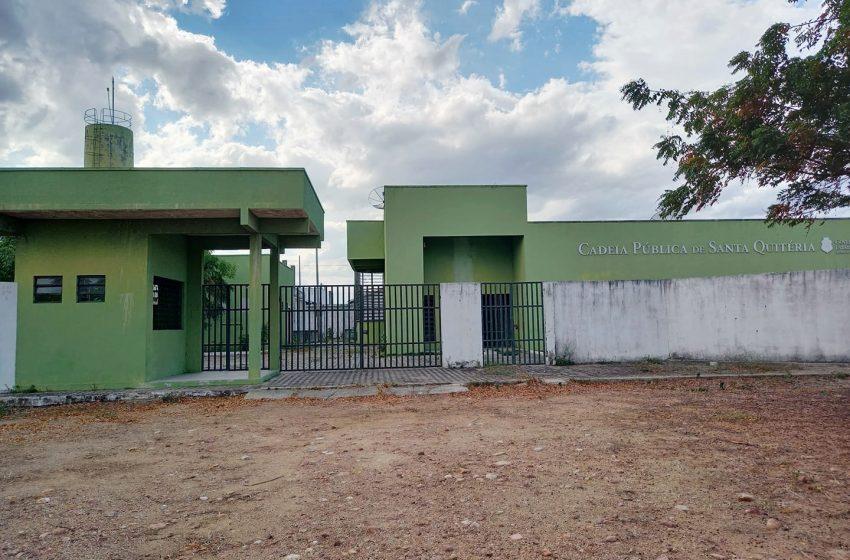 Prédio da Cadeia Pública de Santa Quitéria deverá abrigar o posto local do Detran