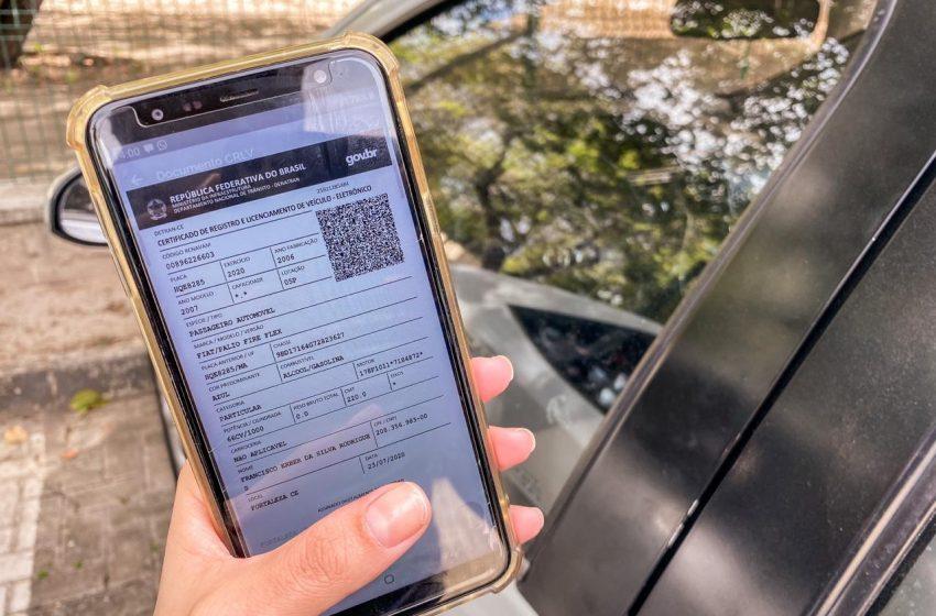 Novo documento de transferência de veículo terá QR Code e poderá ser impresso em papel A4