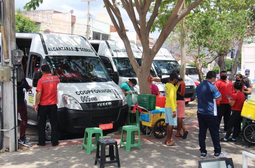 Transporte intermunicipal para Sobral continua suspenso até dia 28