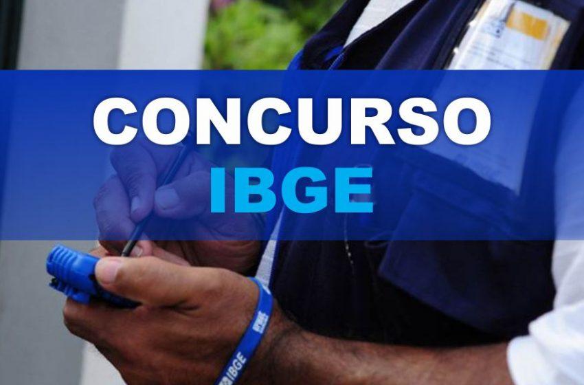 Concurso do IBGE com 40 vagas para Santa Quitéria e salários de até R$ 2,1 mil