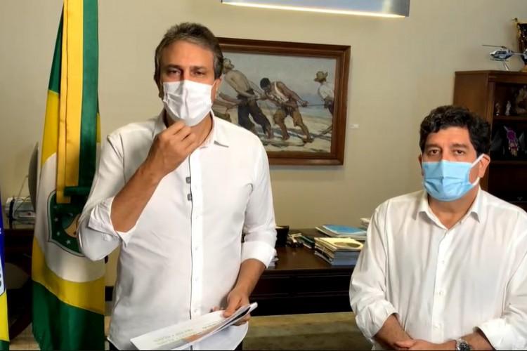 Camilo prorroga lockdown no Ceará por mais uma semana e sinaliza para reabertura em 5 de abril