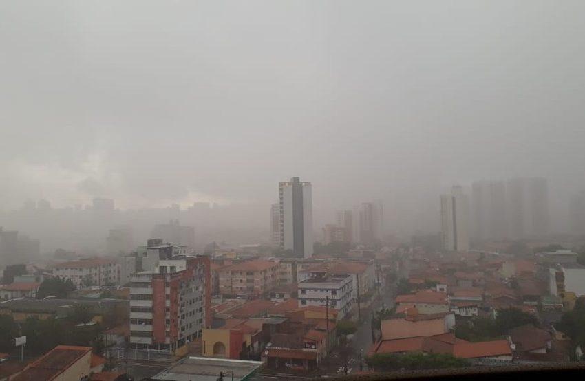 Feriado deve ter chuvas em todas as regiões do Ceará