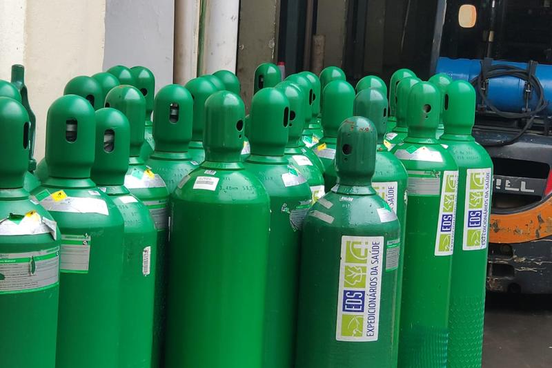 Mesmo com consumo quadruplicado no hospital, Santa Quitéria assegura estoque de oxigênio