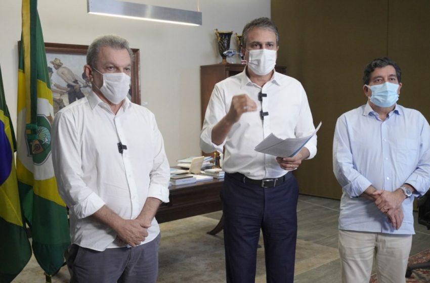 Novo decreto de Camilo prorroga lockdown no Ceará; flexibilização começa dia 12 de abril